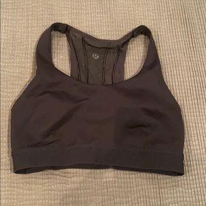 Lululemon Black Sports Bra Size 4